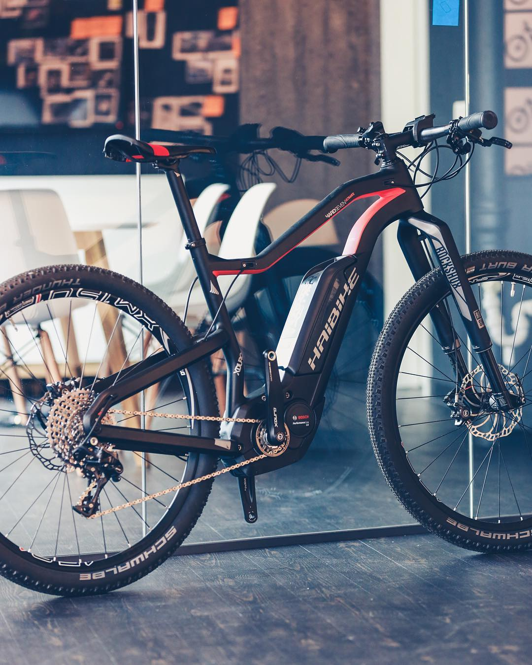 In the studio. The #XDURO #hardseven #rs1 #haibike #design #mtb