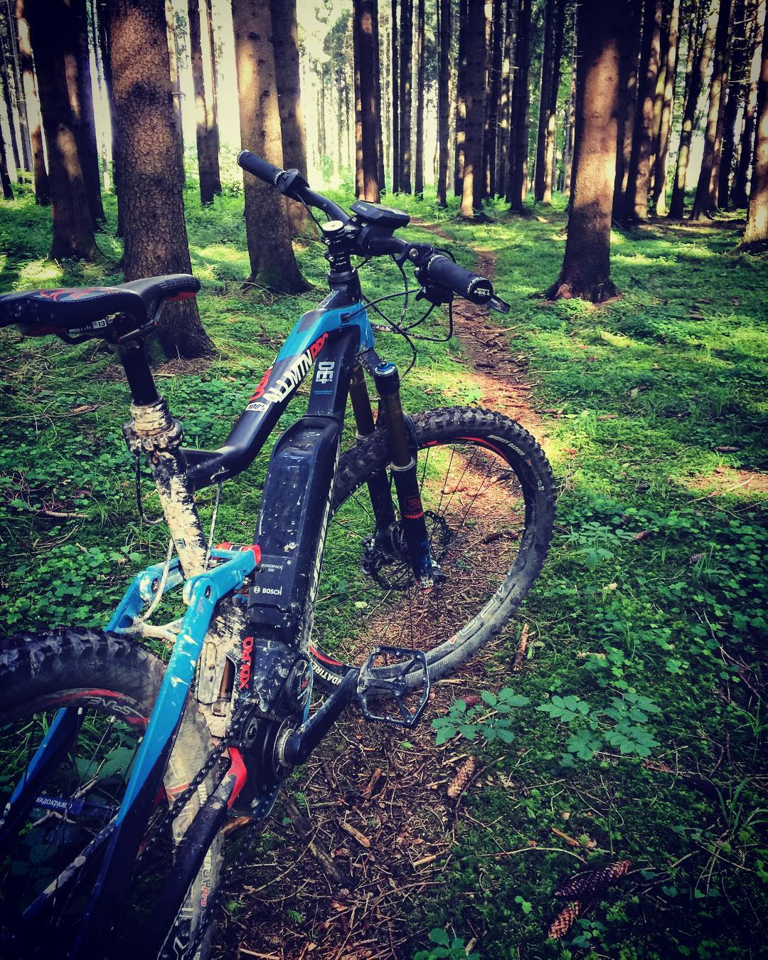 There is little in life as rewarding as finding some new Single-track. #haibike #xduro #emtb #mtb