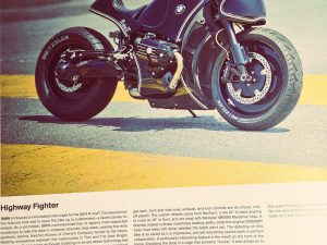 It's hard to pick a favourite bike out of the 350 pages of customs in the @gestalten The Ride book but this one always makes me pause longer than the rest when I flick through.  The Amazing #BMW #rninet from @cherryscompany @maximilian.funk