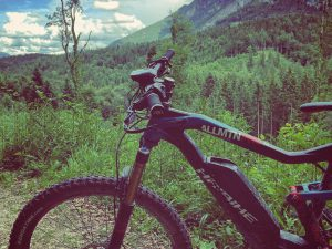 Over every mountain there is a path, although it may not be seen from the valley – Theodore Roethke. #haibike #XDURO #AllMtN #MTB #Emtb