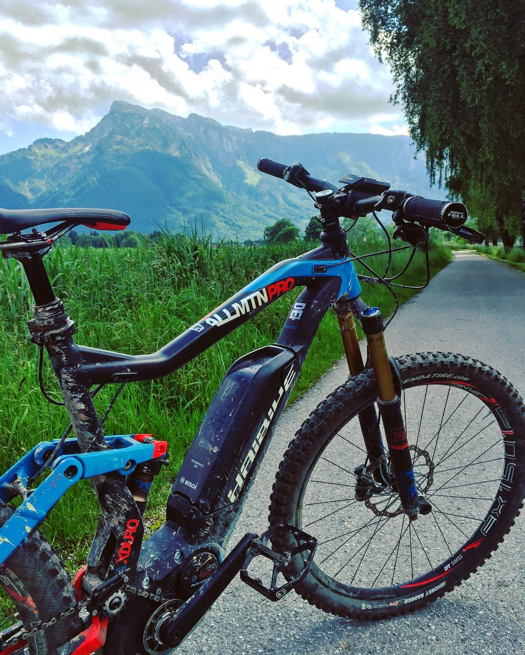Fast track to the mountains! #Haibike #XDURO #mtb #eMTB
