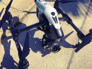 Filming with this bad boy today and my bro @lsp18 . Amazing piece of design and engineering! #djiinspire1pro