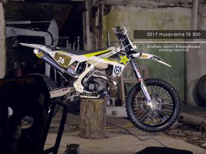 Graham Jarvis's 2017 Husqvarna TE300 Bike Spec