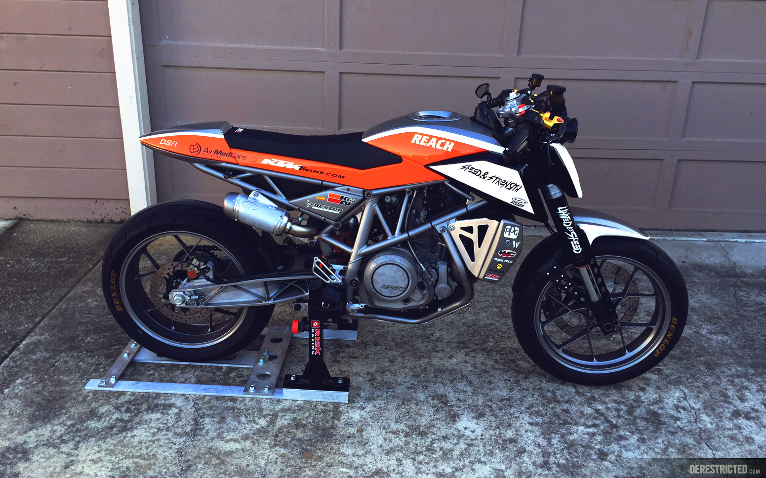 Dsr Ktm 690 Custom Derestricted