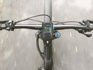 First shot of the new #SDURO EVO with the display integrated into the stem. #Haibike #eperformance #yamaha