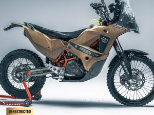 KTM 690 Enduro – Rally Custom from Rafael Gorski