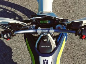 Good morning sunshine! The ergonomics on this bike are brilliant! #Husqvarna #701 #supermoto