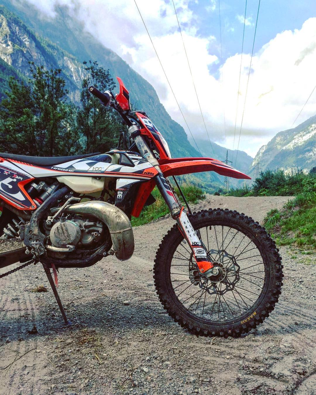 Public holiday today in Bavaria and Austria. #KTM #300exc