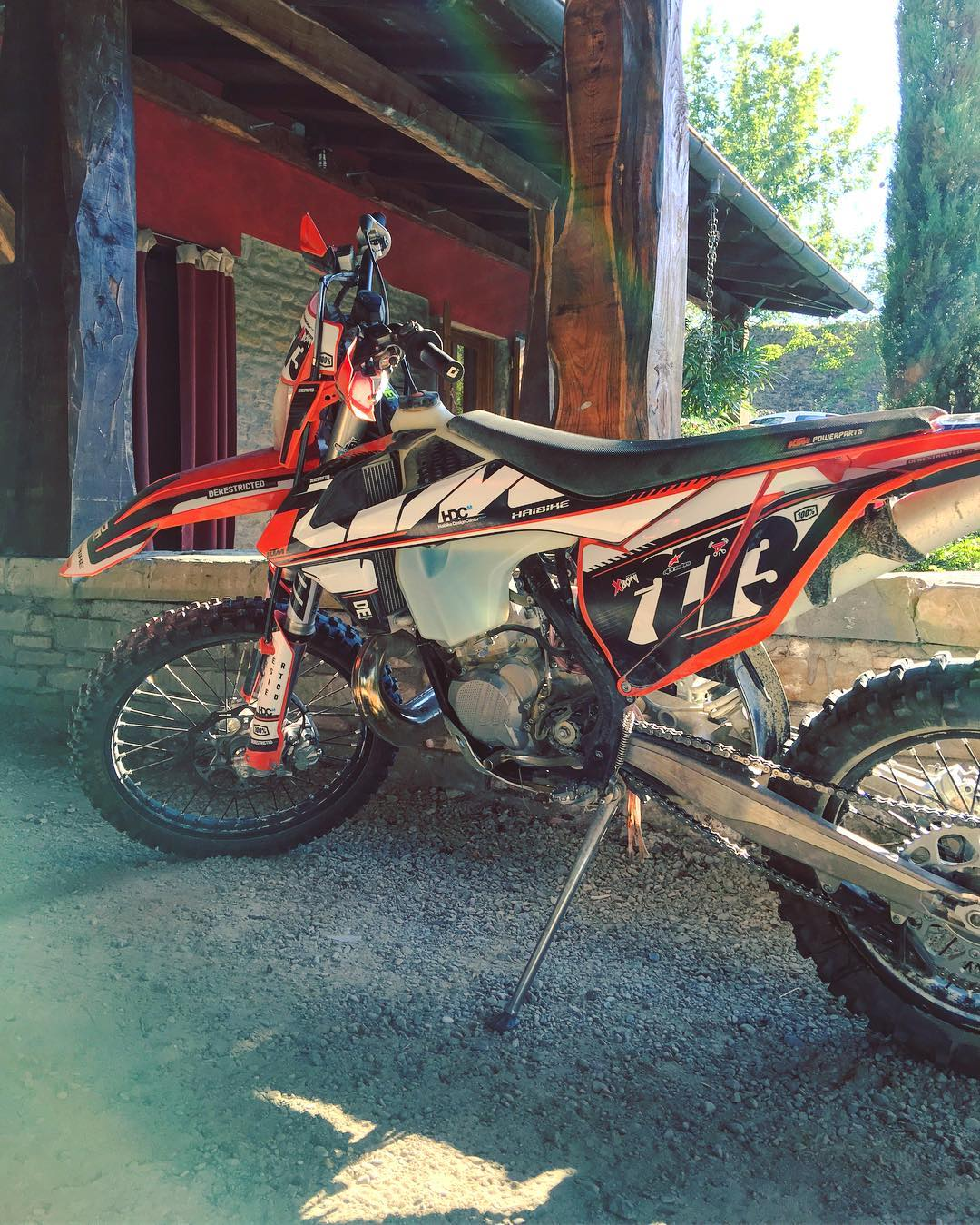 Hands down the best Enduro bike we have ever ridden. #KTM #300exc #enduro #ride100percent