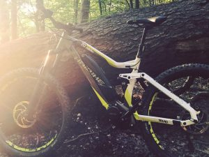 Out for a ride doing some R & D on an early sample of the all new #haibike2017 #sduro #AllMtn 7.0 #yamaha #emtb