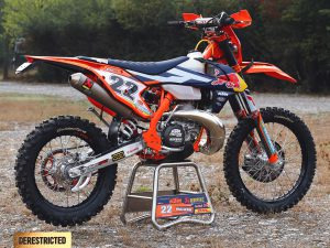 Jonny Walker's KTM 300 EXC 2017 Factory bike – DE Ride review!