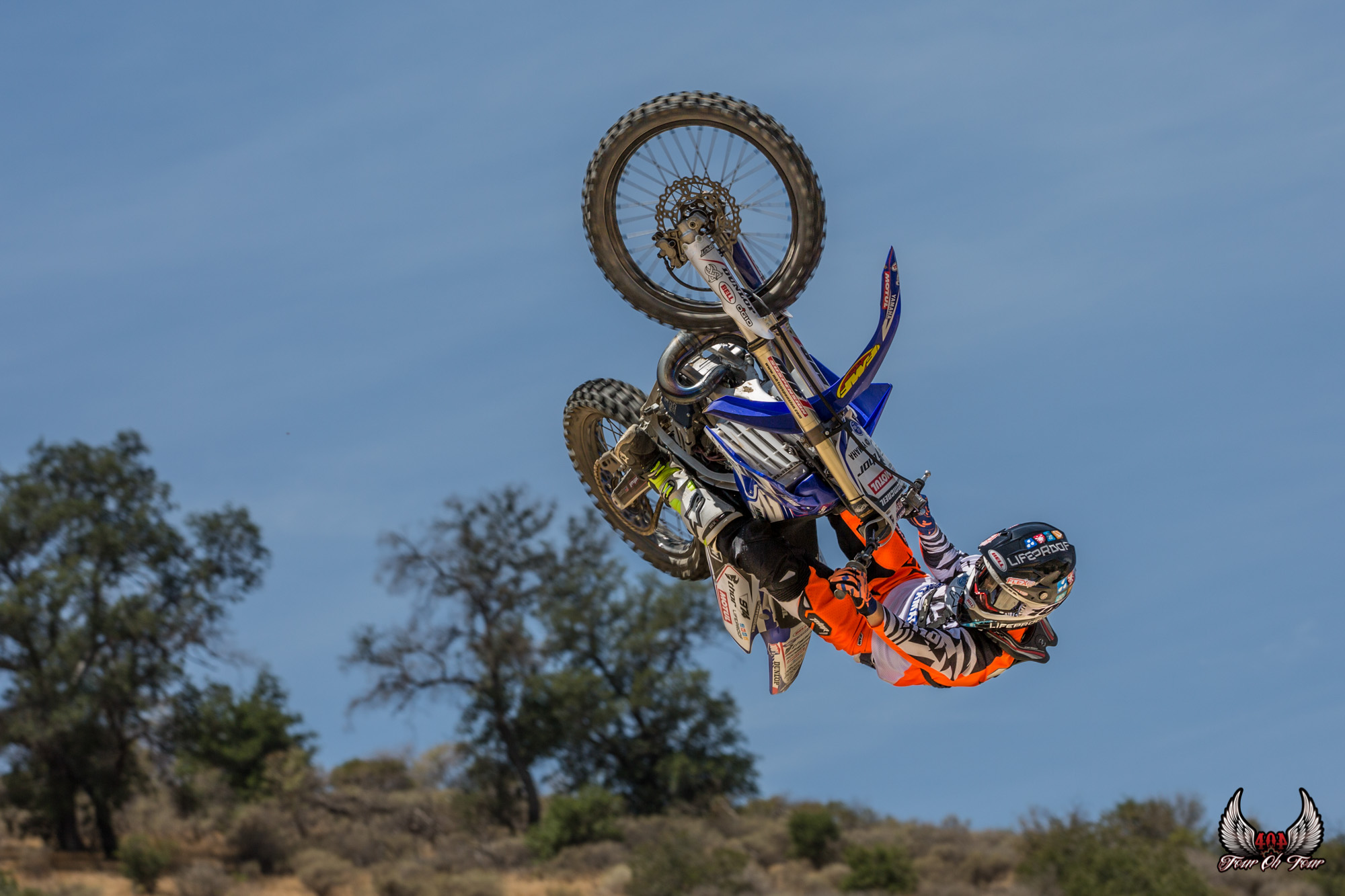 Jarryd Mcneil whips his bike while filming for RIDE UNITED the movie. Photo by Amanda West - FourOhFour Films.