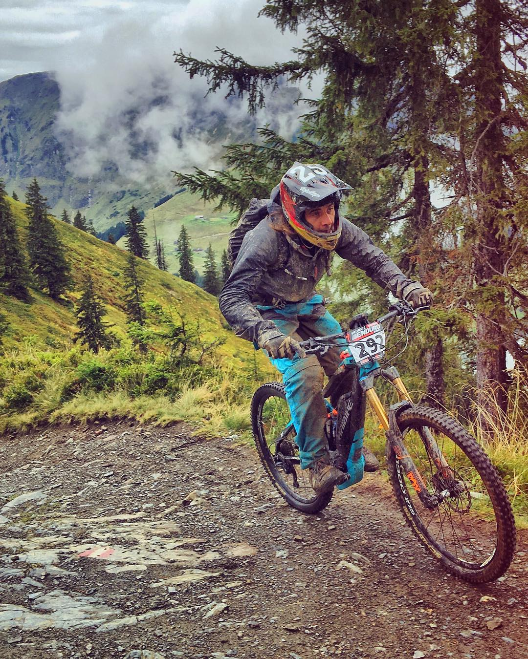 @benna292 working hard for that silver medal. Nothing worthwhile is every really that easy. #xduro #haibike #emtb #mtb