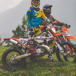 Another #tbt at the track with the crew.  #KTM #300exc #enduro #ride100percent #moto  @zajcmaster and Xandl