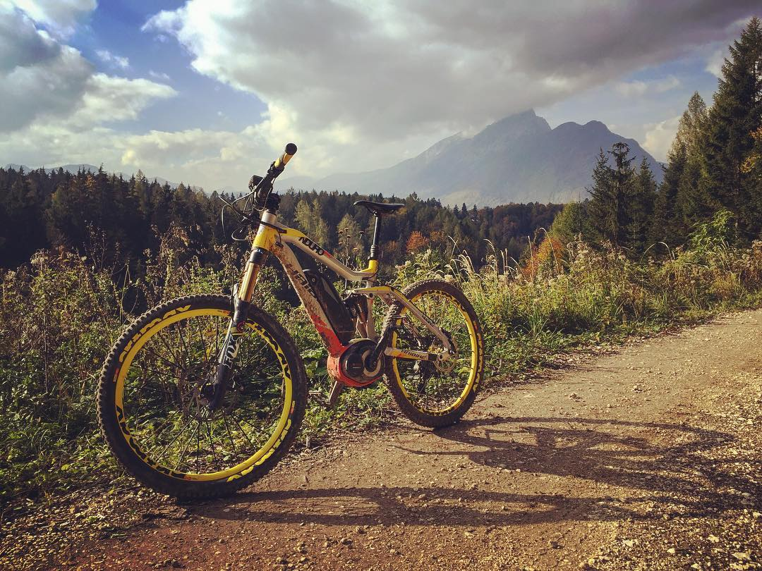 The iconic #XDURO #NDURO was the first eBike of its kind, the first eBike you could properly charge uphill on as well as down, and has been leading the long travel eBike revolution ever since. You only have to try one for a few minutes on the right trails to see why. @haibike_official #haibike #emtb #ebike #mtb