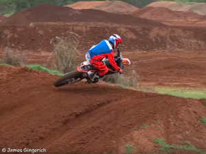 """Ripping the 125"" ft Jesse Flock on the KTM 125 at Canard's"