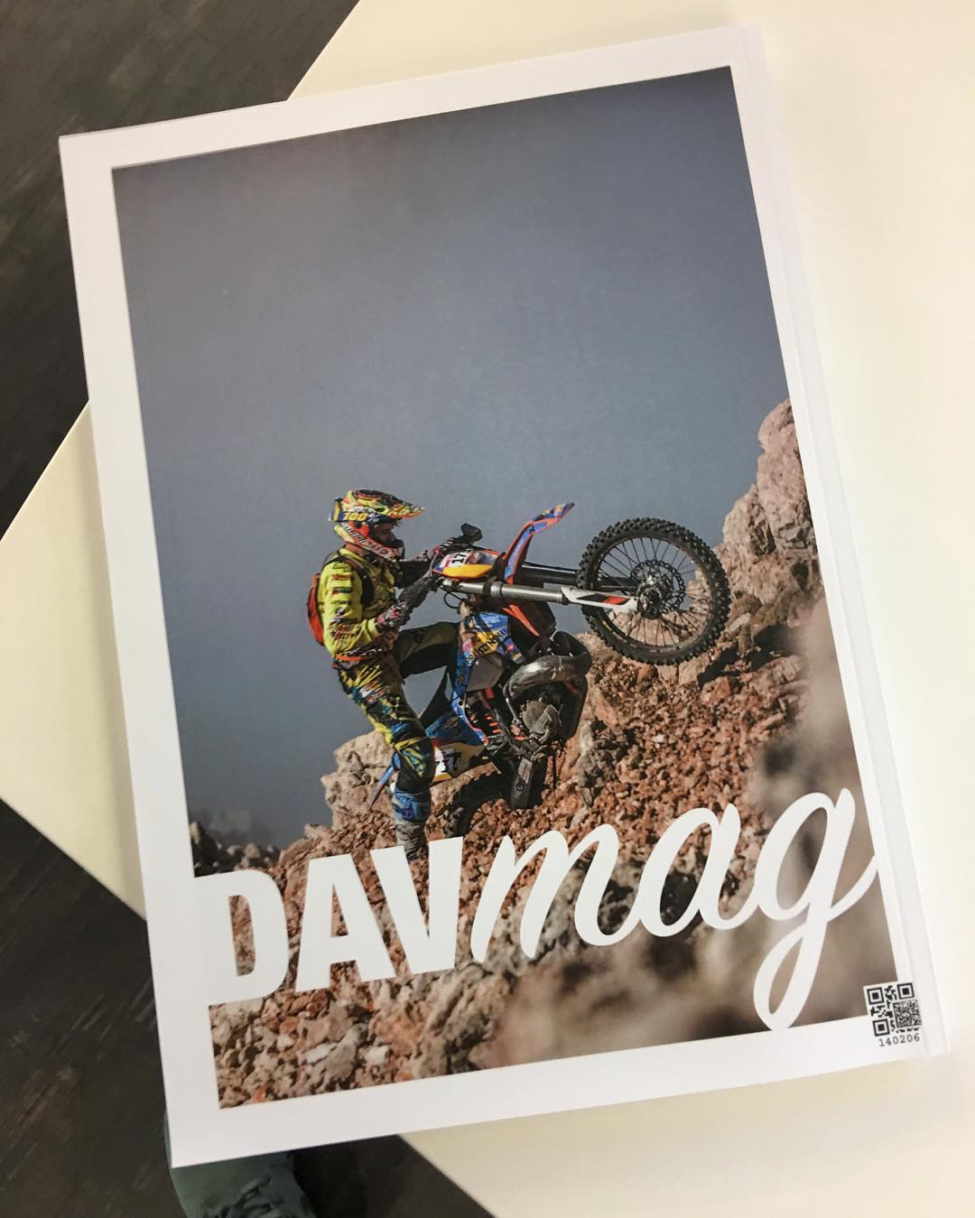 This beautifully produced work of art called @davmag_magazine just showed up in the office today. It is Kind of a modern, classy version of Playboy, full of superb Dirt bike photos and stunning girls. Check out their IG account or visit there website to get a copy! Produced by @go27go #dirtbikes #enduro #moto #ride100percent