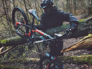 You can ride over ALMOST  everything on eBikes. #emtb #ebikes #haibike #xduro @benna292