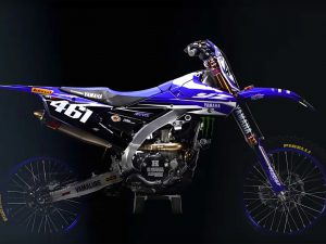 Monster Energy Yamaha Factory MXGP Team's 2017 YZ450FM