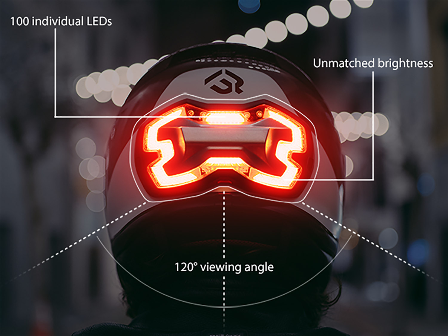Brakefree The Smart Brake Light For Motorcyclists