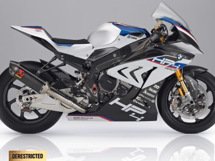 The new BMW HP4 RACE.