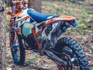 If you go down to the woods today. #ktm #exc #enduro #2stroke #de_portfolio