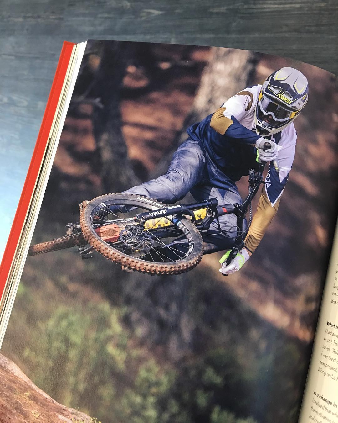 @tschugg23 looking steezy in the latest @malojaclothing catalog! #haibike #mtb #emtb #ebike #ride100percent #durolux #nduro #enduro