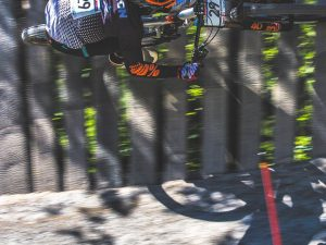 Love shooting action like this! @amaurypierron4 flying by last weekend at Leogang! #ride100percent #mtb #dh #downhillmtb