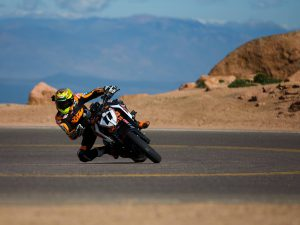 Chris Fillmore's Record Breaking Run up Pikes Peak Mountain | KTM