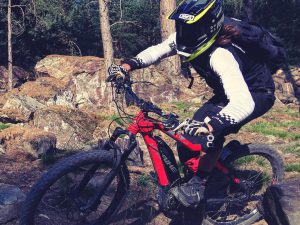 Nothing advances your understanding of eMTB's and how they can be improved as well as riding them as hard as possible! #mtb #lovetoride #emtb #enduro #ride100percent #haibike #sduro #allmtn