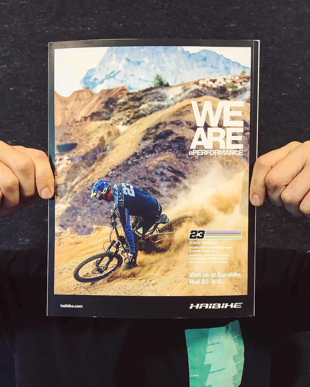 We are Weltmeister. Visit us at Eurobike Hall B2. #haibike #weareeperformance #xduro #ebike #emountainbike #emtb