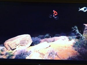Just watching @brandonsemenuk 'a revel in the chaos vid on Red Bull TV. Mind fully blown!!! #mtb #mountainbike