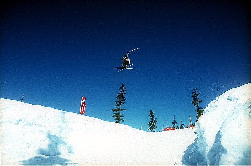 Throwback Thursday to hitting some sweet kickers in whistler some years back! Almost ready for the new snow season! Photo by my bro @lsp18 #snow #mountains #tbt