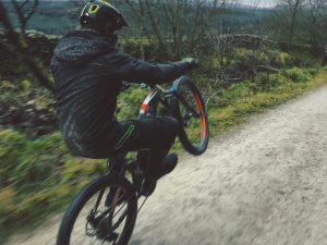 Green lane manuals in Lancashire with @paulboltsenduro and @haibike_official and @lsp18 . #wheeliewednesday #haibike #enduro #xduro #emtb #mtb #agencylife