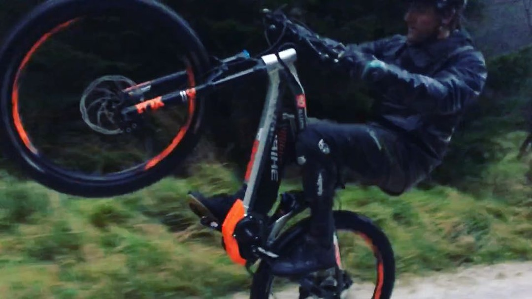 Good times on set with @paulboltsenduro / @hdc_m / @haibike_official / @lsp18 . #haibike #emtb #enduro #mtb #xduro #allmtn
