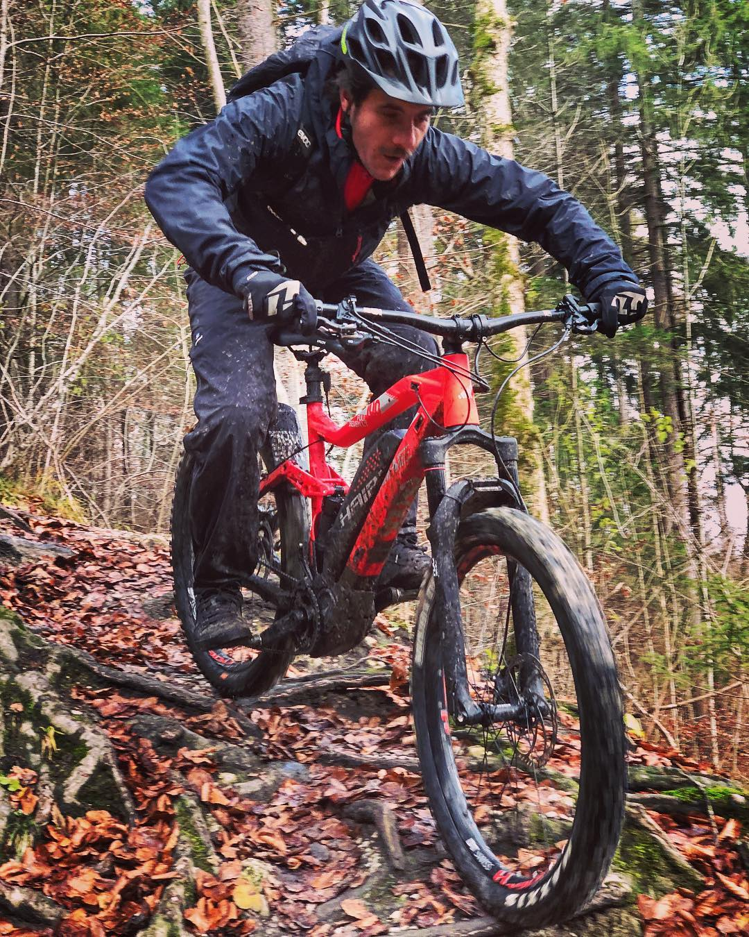 Muddy Monday in Movember #haibike #emtb #ebike #emountainbike #movember #designagency #agencylife