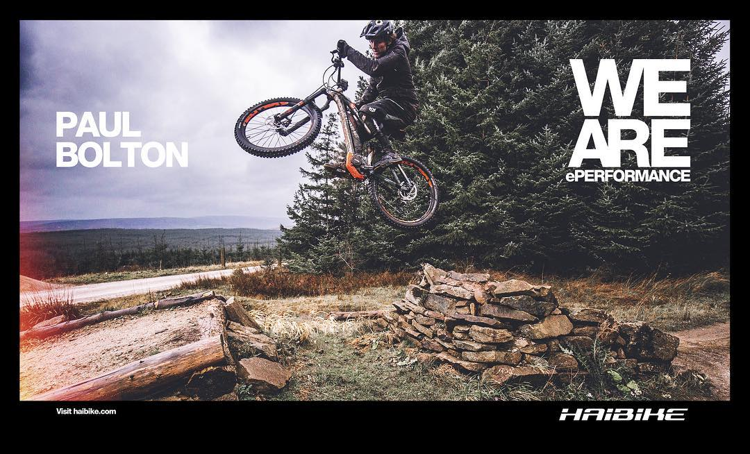 The little documentary edit we worked on @hdc_m with @paulboltsenduro is now up on the @haibike_official Facebook page. Click the link in our bio to check it out! Miserable conditions but lots of fun making it even if our camera equipment got trashed. Big thanks to my bro @lsp18 for the help too. #enduro #mtb #weareeperformance #haibike #emtb #ebike