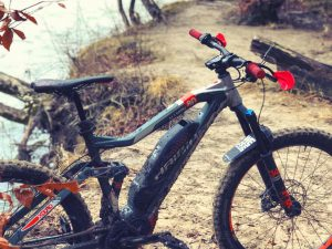 First ride of the year back in Munich on the local trails. Perma-grin!