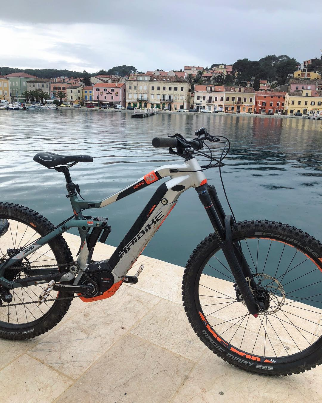 The calm after the DH storm! #losinj #NDURO #downhill #haibike #emtb #ebike #weareeperformance