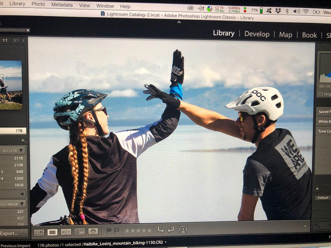 Photo/video shoot done! High five! #weareeperformance #haibike #ride100percent