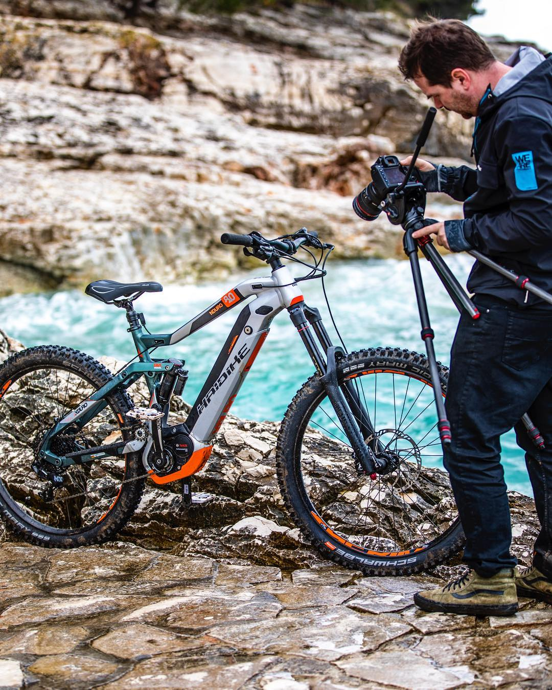 Up close, behind the scenes. #haibike #nduro #emtb #agencylife #weareeperformance