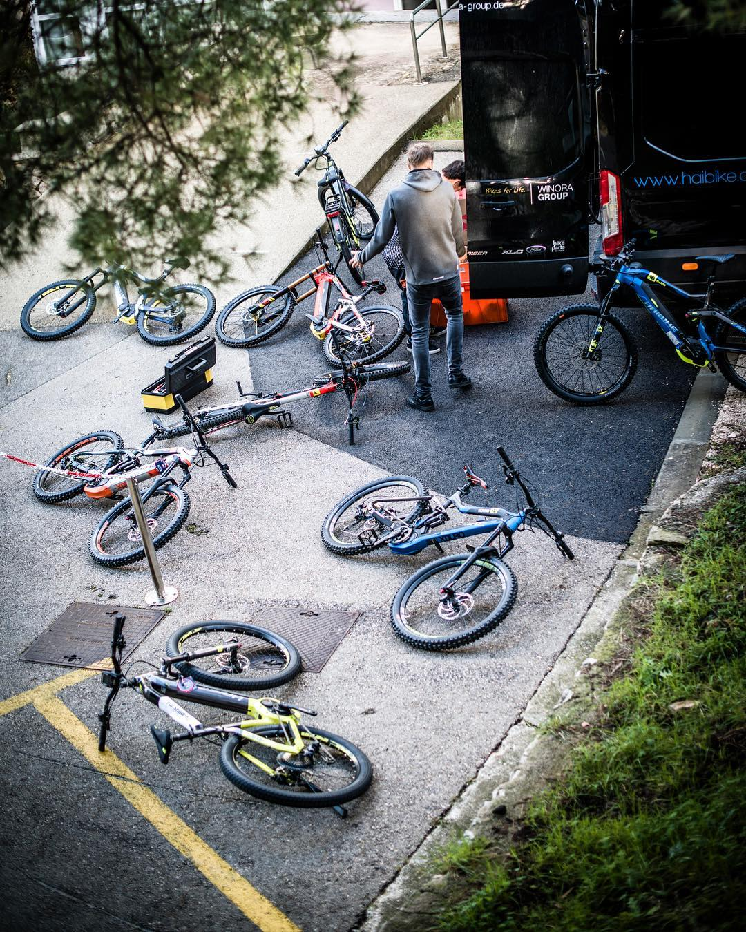 Preparation. #haibike #emtb #agencylife 📷 @lighttrapper_photography