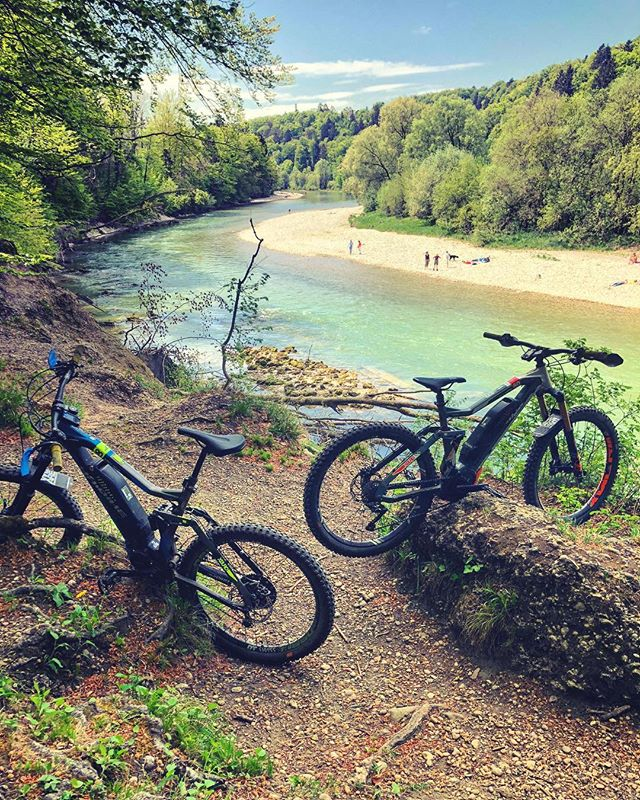 Living somewhere with heavy winters, you really, really appreciate the summers :) #emtb #ebike #enduro #isartrails #haibike