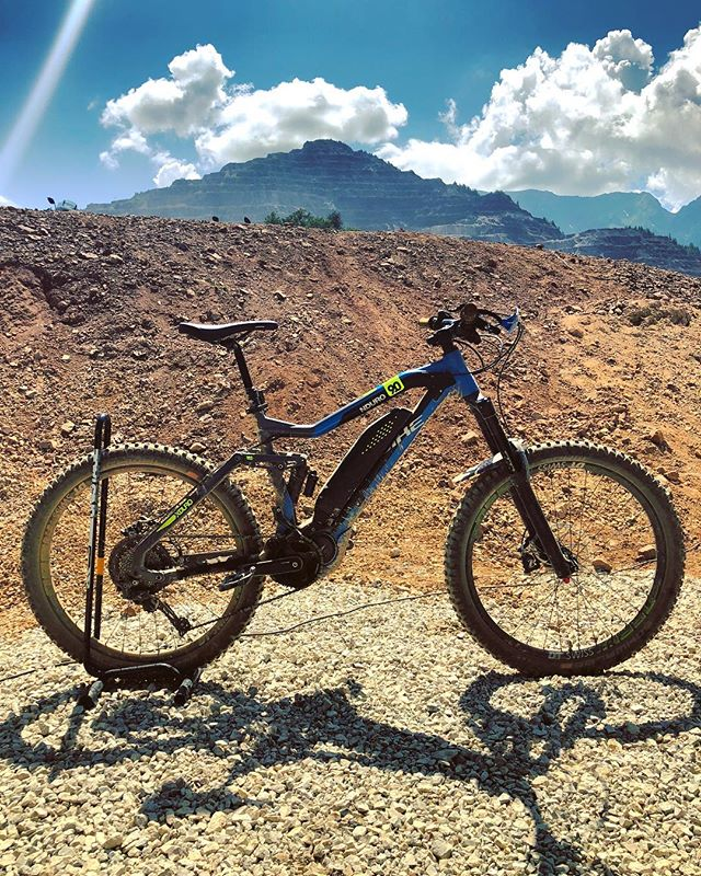 The Haibike #NDURO at the toughest Hard #enduro event in the world! #haibike #emtb #ebike