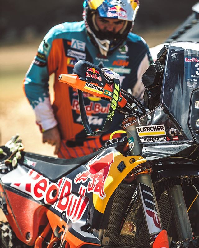 Machine and man. #ride100percent #rally #ktm #enduro