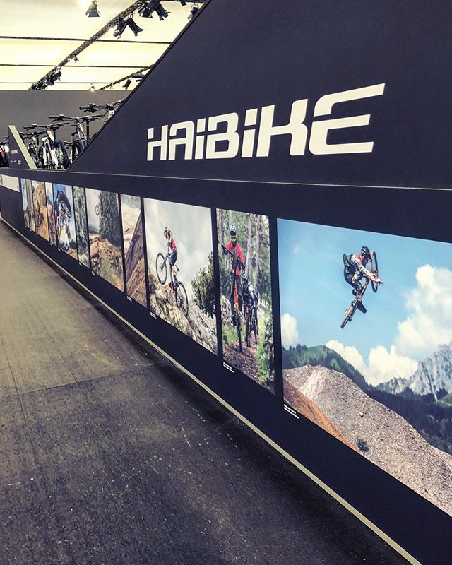 Come and visit us at Eurobike, check out the MY19 designs we have worked on and have a look at some of our favourite photos from the past year on the walls! #haibike #emtb #design #eurobike