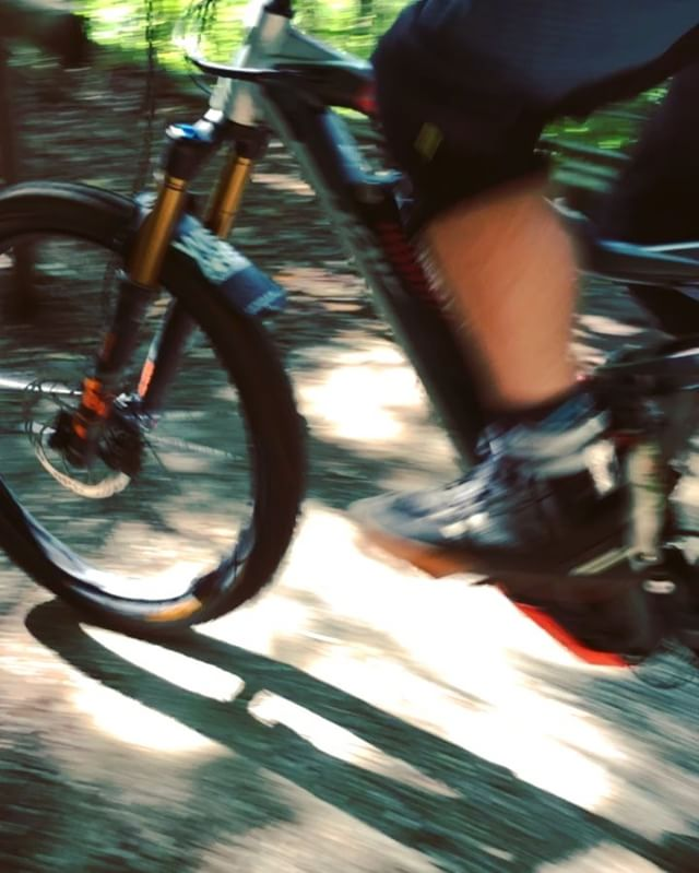 Brilliant ride today with old friends from Salzburg @zajcmaster and @moriarty4626 , showing then around my local Munich trails. #stairclimbsundays #ride100percent #emtb #ebike #haibike