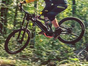Photo by my 8 year old son, who doesn't have a phone yet (even though he wants one), so I can't tag him 🙂 #Haibike #ride100percent #eebit #emtb