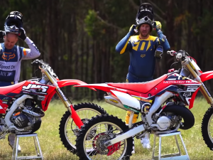 2 stroke VS 4 Stroke! Velocity Disorder II – CRF450R vs CR250R