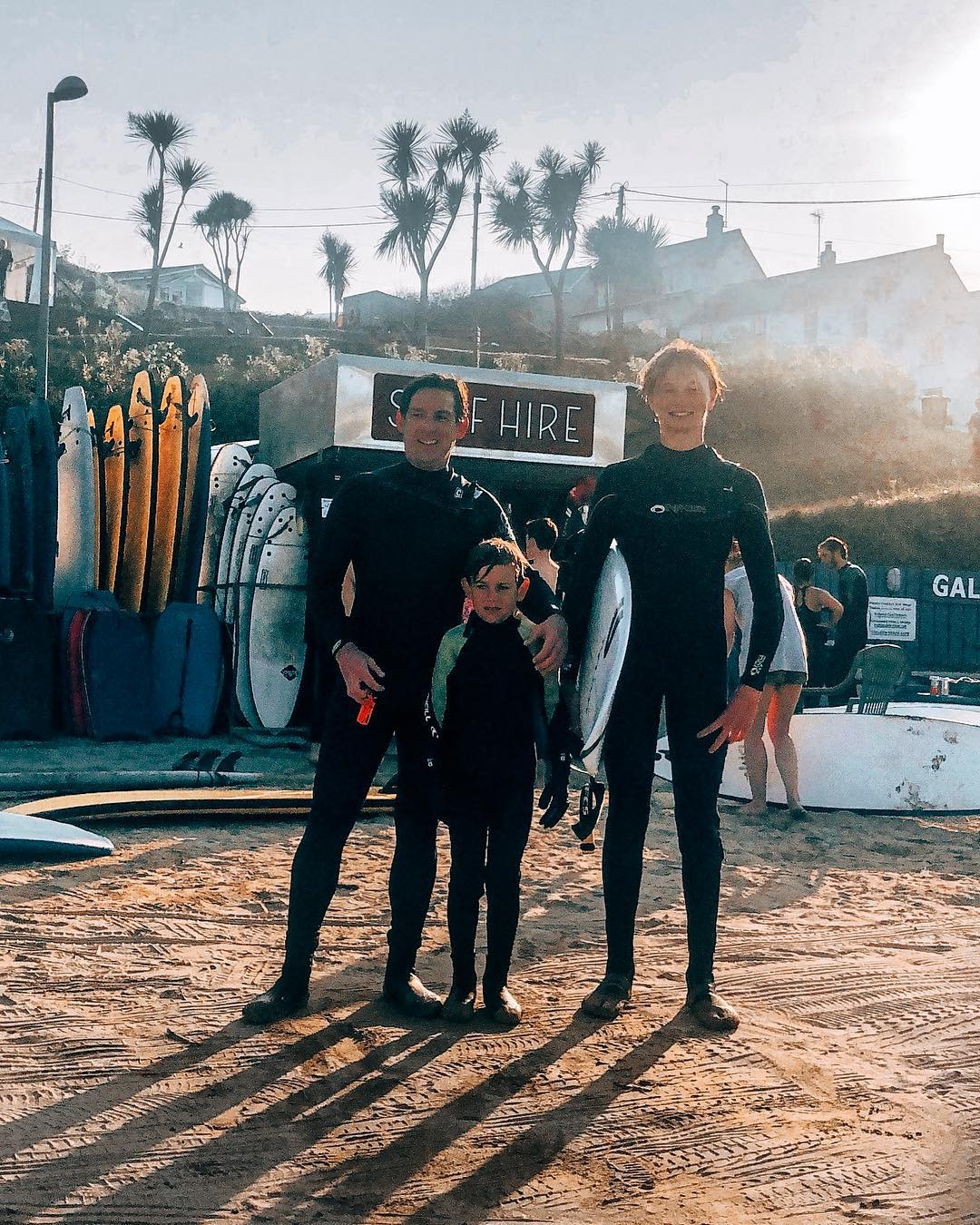 Been catching some great waves in Cornwall this week! Was a little humbling surfing with my cousin @barnabycox_ , who is the under 18 British surf champion! So rad watching my son learning the ropes and getting stoked on surfing too. Happy Easter all! #cornwall #surfing